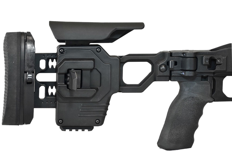 dual strike tool free fully adjustable stock