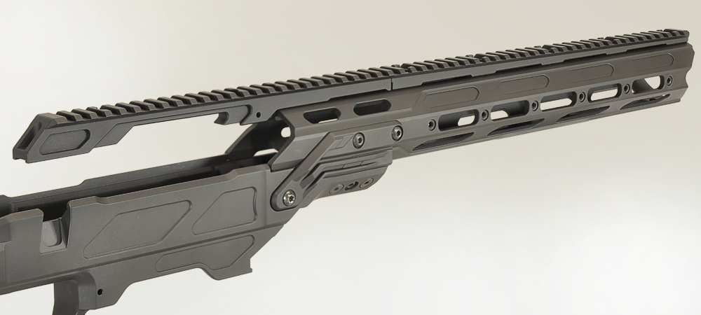 slides precision rifle lite top rail background